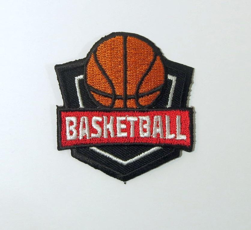 Bügelmotiv E Basketball