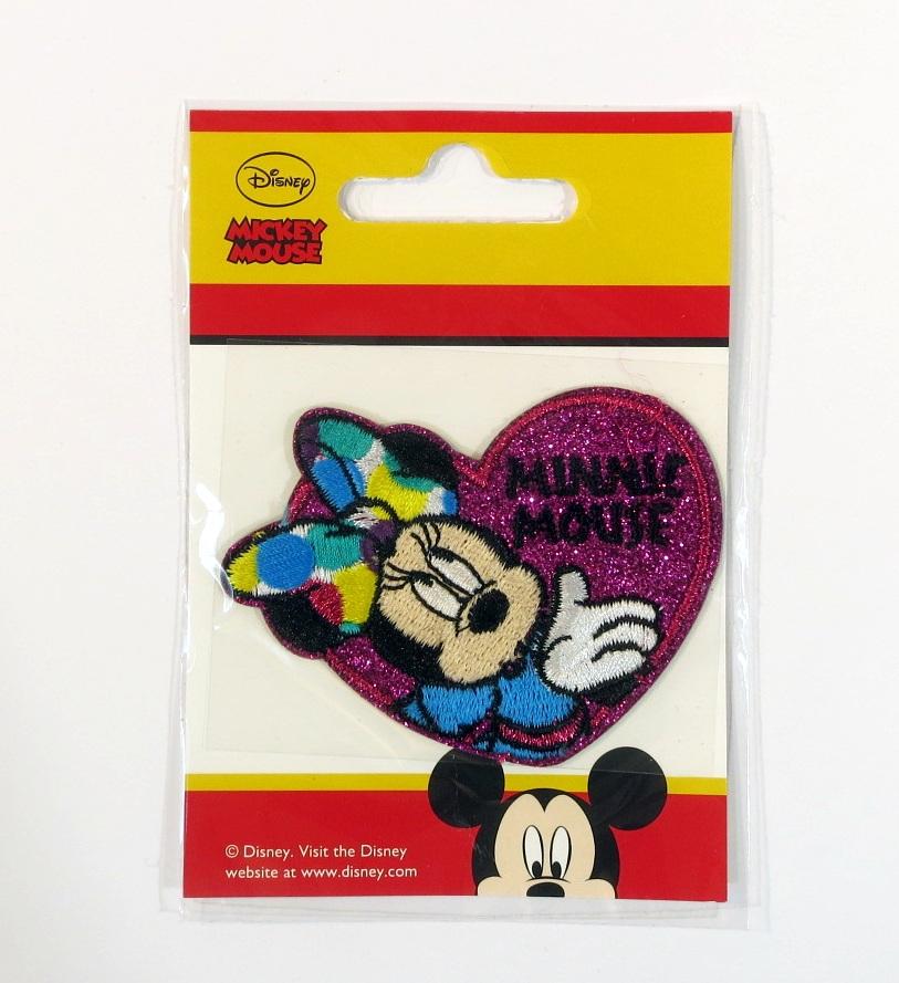Bügelmotiv K Minnie Maus