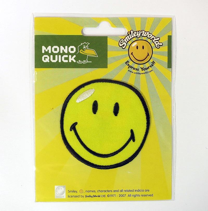 Bügelmotiv K Smiley