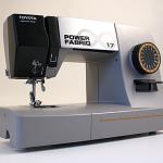 Nähmaschine Power Fabriq Front