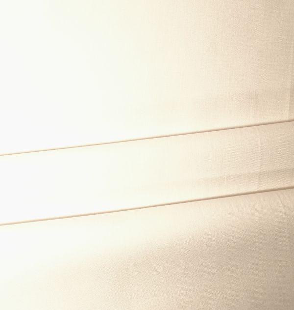 Baumwollstoff uni weiß